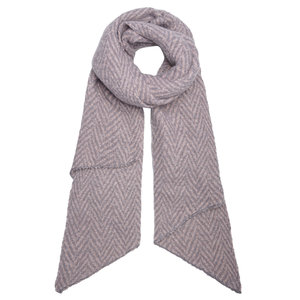 Lotz & Lot SCARF WINTER ZIGZAG - PINK