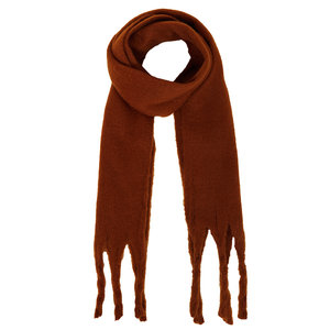 Lotz & Lot SCARF IN BETWEEN - BROWN