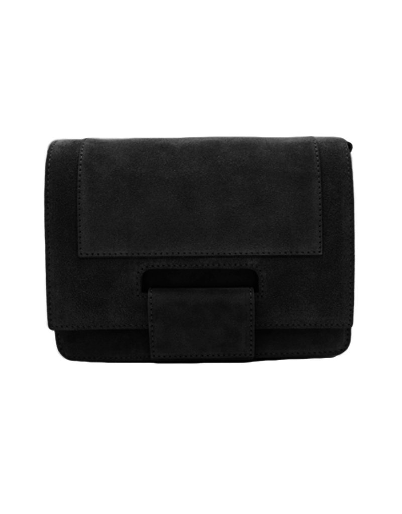 Number Five KAAT BAG - SUEDE BLACK