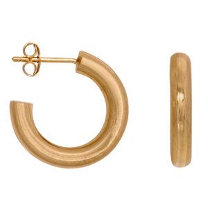 Eline Rosina TUBE HOOPS - GOLD