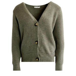Lotz & Lot STEFFIE CARDIGAN - KAKI ONE SIZE