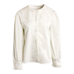 Lotz & Lot BRITT BLOUSE - WHITE