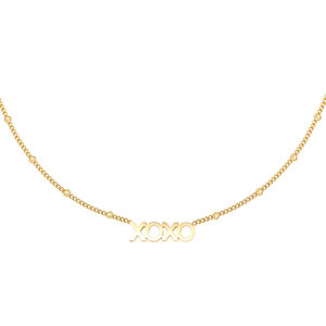 Lotz & Lot NECKLACE XOXO - GOLD