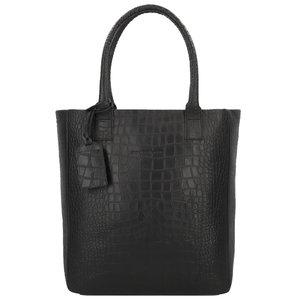 Cowboysbag BAG QUARTZ - CROCO BLACK