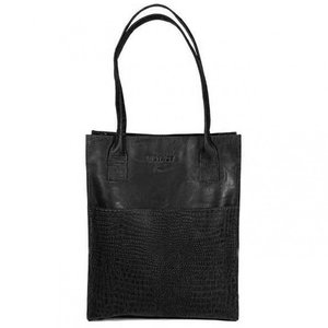 Dstrct BAG ALLIGATOR GREEK - BLACK