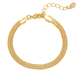 Lotz & Lot SNAKY CHAIN BRACELET - GOLD