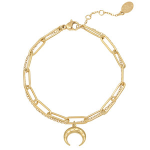 Lotz & Lot HORN BRACELET - GOLD
