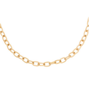 Lotz & Lot CHISELED CHAIN NECKLACE - GOLD