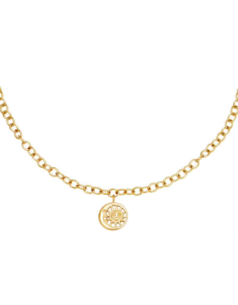 Lotz & Lot MOONLIGHT CHAIN NECKLACE - GOLD
