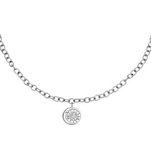 Lotz & Lot MOONLIGHT CHAIN NECKLACE - SILVER