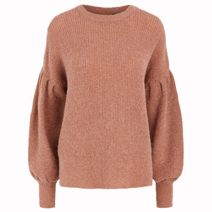 YAS YASMOCHA KNITTED SWEATER - PINK