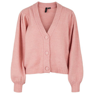 Y.A.S YASPAVI KNITTED CARDIGAN - PINK