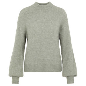 Y.A.S YASSIERA KNITTED SWEATER - GREEN