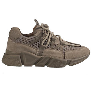 DWRS label LOS ANGLES SNEAKERS - BEIGE