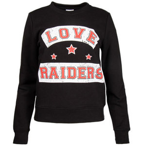Colourful Rebel LOVE RAIDERS BASIC SWEAT - BLACK