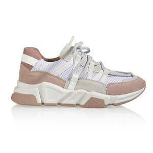 DWRS label LOS ANGELES SNEAKERS - WHITE/PINK