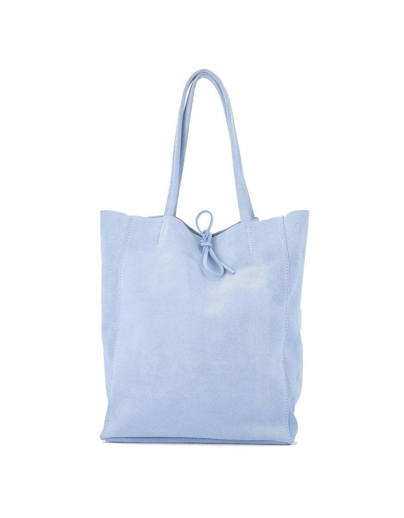 Lotz & Lot MIA  SUEDE  SHOPPER - BLUE