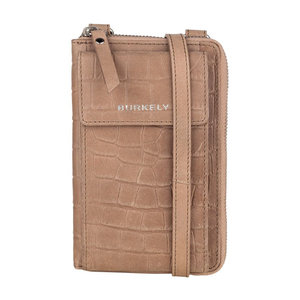 Burkely CROCO CAIA PHONEBAG - TAUPE