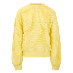 Colourful Rebel OLIVIA KNITTED SWEATER - YELLOW