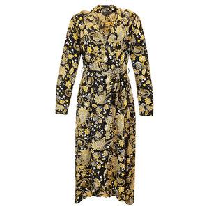 Colourful Rebel VIVIAN PAISLEY BLAZER DRESS - BLACK