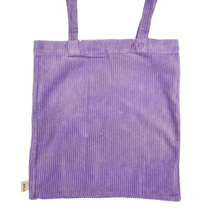 Life of Bulu TOTE RIB SHOPPER - PURPLE