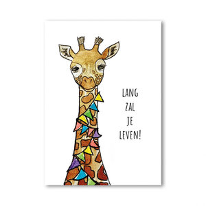 Studio Loli BIRTHDAY CARD - GIRAFFE
