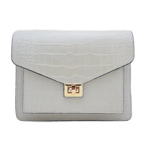 Fique the label BEAU BAG - CREME/GOLD