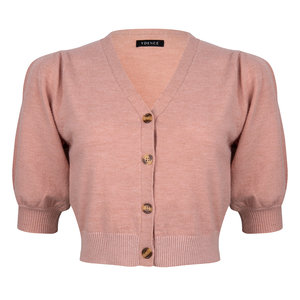Ydence CHANTALLE  KNITTED TOP - LIGHT PINK