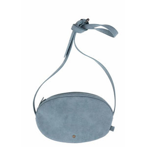 Zusss LISA SHOULDER BAG - BLUE/ GRAY