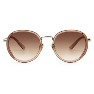 Ikki BELLE SUNGLASSES - TRANSPARANT BROWN