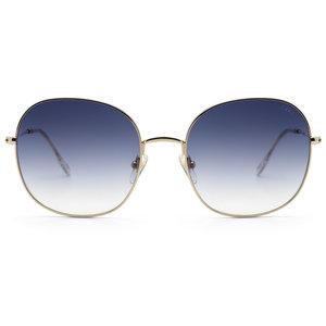 Ikki CELESTE SUNGLASSES - GOLD/ GRADIENT BLUE