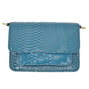 My Jewellery MY JEWELLERY CROCO BAG - BLUE