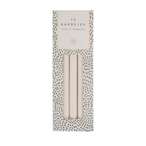 Zusss CANDLE SET 10 - SAND