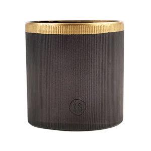Zusss GLASS WAXINE HOLDER - BLACK