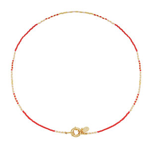 Lotz & Lot YAN NECKLACE - RED