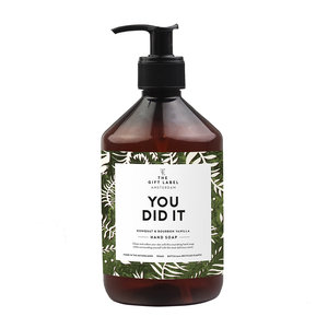 The Gift Label YOU DID IT - HANDSOAP