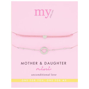 My Jewellery MOTHER & DAUGHTER MINI  - SILVER