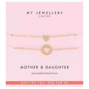 My Jewellery MOTHER DAUGHTER BRACELET - GOLD