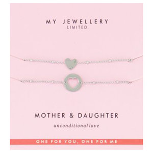 My Jewellery MOTHER DAUGHTER BRACELET - SILVER