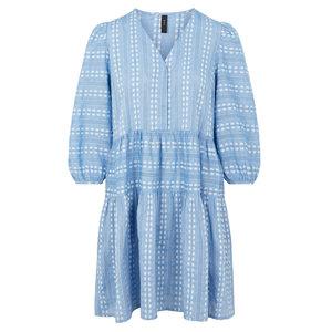Y.A.S PACCA COTTON DRESS - BLUE