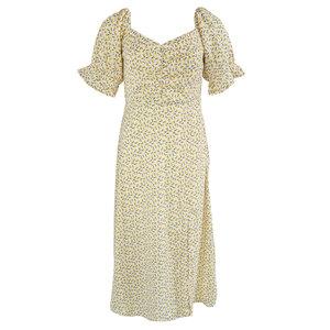 Rut & Circle CAMILLE DRESS - YELLOW
