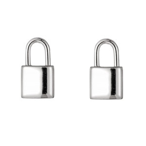 Go Dutch Label LOCK EARSTUD - SILVER