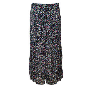 Colourful Rebel RIVE DITZY FLOWER HIGH LOW SKIRT - MULTI