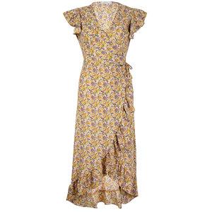 Ambika MARYAM DRESS - YELLOW FLOWER