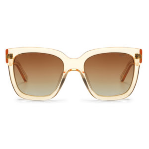 Ikki HOLLY SUNGLASSES - TRANSPARANT GOLD / GRADIENT BROWN