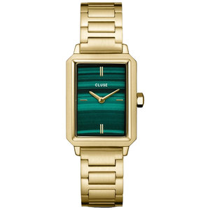 Cluse FLUETTE STEEL GREEN - GOLD