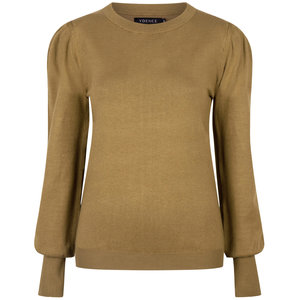Ydence KNITTED TOP KELSEY - OLIVE