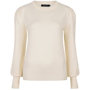 Ydence KNITTED TOP KELSEY - OFF WHITE