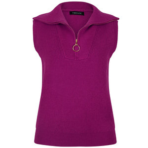 Ydence KNITTED SWEATER OPAL - PURPLE