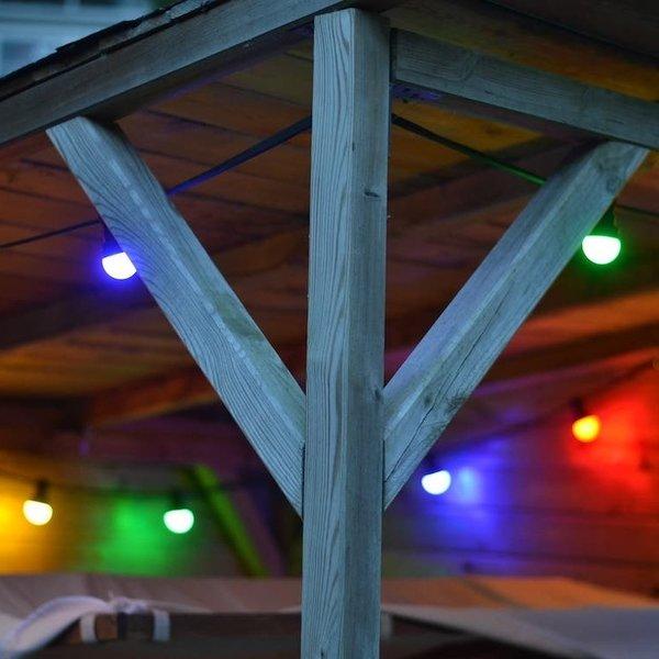 4 kleuren gemixte lampen